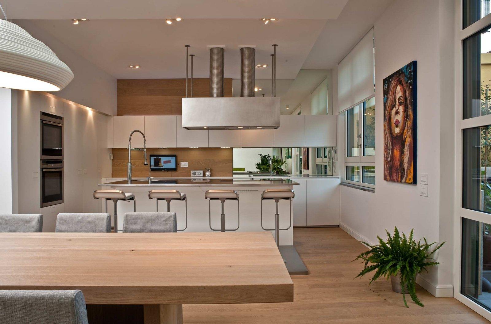 Guida alla scelta dei materiali per cucine da chef rp - Parquet in cucina ...